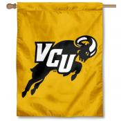 VCU Jumping Ram Logo Banner Flag