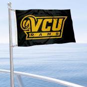 VCU Rams Boat and Mini Flag