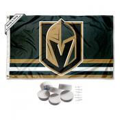 Vegas Golden Knights Banner Flag with Tack Wall Pads