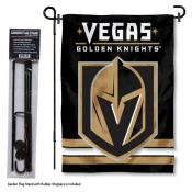 Vegas Golden Knights Garden Flag and Stand