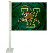 Vermont Catamounts Car Flag