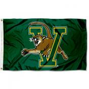 Vermont Catamounts Green Flag