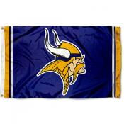 Vikings Logo Flag
