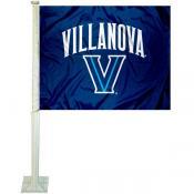 Villanova Car Flag