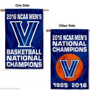 Villanova Wildcats 2 Time National Champs House Flag