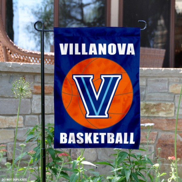 Villanova Wildcats Basketball Garden Banner is 13x18 inches in size, is made of 2-layer polyester, screen printed athletic logos and lettering. Available with Same Day Express Shipping, Our Villanova Wildcats Basketball Garden Banner is officially licensed and approved by the school and the NCAA.