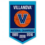 Villanova Wildcats Basketball National Champions Banner