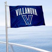 Villanova Wildcats Boat and Mini Flag