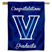 Villanova Wildcats Congratulations Graduate Flag