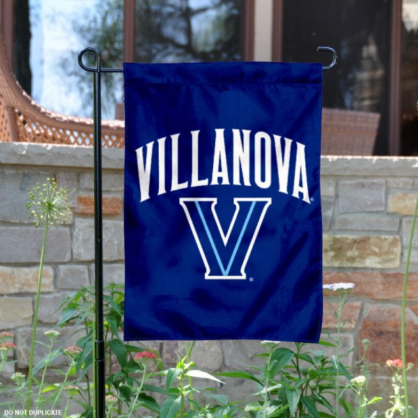 Villanova Wildcats Garden Flag is 13x18 inches in size, is made of 2-layer polyester, screen printed Villanova Wildcats athletic logos and lettering. Available with Same Day Express Shipping, Our Villanova Wildcats Garden Flag is officially licensed and approved by Villanova Wildcats and the NCAA.