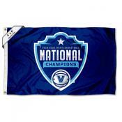 Villanova Wildcats National Champions 2018 4x6 Foot Flag