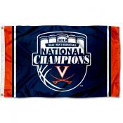 Virginia Cavaliers 2019 Basketball National Champions Official Logo Flag