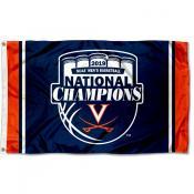 Virginia Cavaliers 2019 Basketball National Champions Official Logo Flag