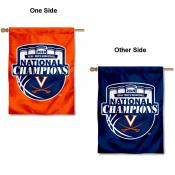 Virginia Cavaliers 2019 College Basketball National Champions House Flag