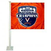 Virginia Cavaliers 2019 Final Four National Champions Car Flag