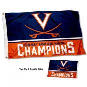Virginia Cavaliers 2019 NCAA Basketball National Champions Double Sided Flag