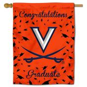 Virginia Cavaliers Congratulations Graduate Flag