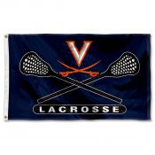 Virginia Cavaliers Lacrosse Flag