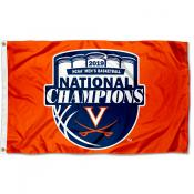 Virginia Cavaliers Orange 2019 Basketball National Champions Flag
