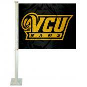 Virginia Commonwealth Rams Logo Car Flag