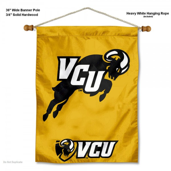 Virginia Commonwealth Rams Wall Banner