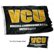 Virginia Commonwealth VCU Double Sided 3x5 Flag