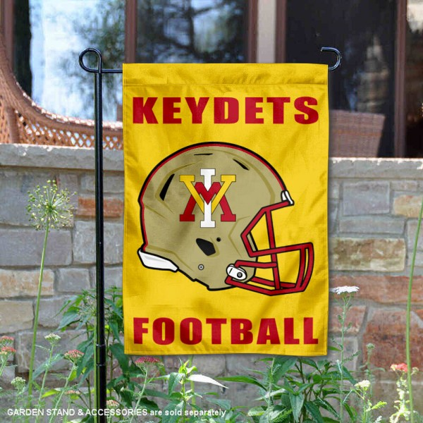 Virginia Military Keydets Helmet Yard Garden Flag is 13x18 inches in size, is made of 2-layer polyester with Liner, screen printed university athletic logos and lettering, and is readable and viewable correctly on both sides. Available same day shipping, our Virginia Military Keydets Helmet Yard Garden Flag is officially licensed and approved by the university and the NCAA.
