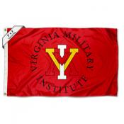Virginia Military Keydets Small 2'x3' Flag