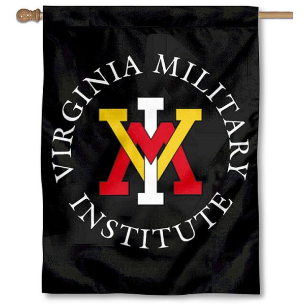 Virginia Military VMI Banner Flag is a vertical house flag which measures 30x40 inches, is made of 2 ply 100% polyester, offers dye sublimated NCAA team insignias, and has a top pole sleeve to hang vertically. Our Virginia Military VMI Banner Flag is officially licensed by the selected university and the NCAA.
