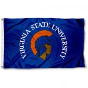 Virginia State Trojans  Flag