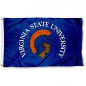 Virginia State Trojans  Flag
