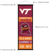 Virginia Tech Decor and Banner