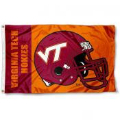Virginia Tech Football Flag