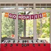 Virginia Tech Hokies Banner String Pennant Flags