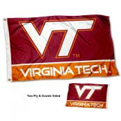 Virginia Tech Hokies Double Sided Flag