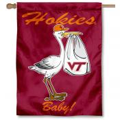 Virginia Tech Hokies New Baby Flag
