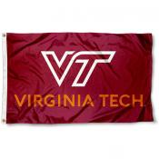 Virginia Tech Hokies New Logo Flag