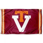 Virginia Tech Hokies Throwback Vault Logo Flag