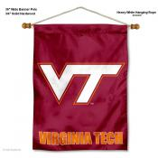 Virginia Tech Hokies VT Wall Banner
