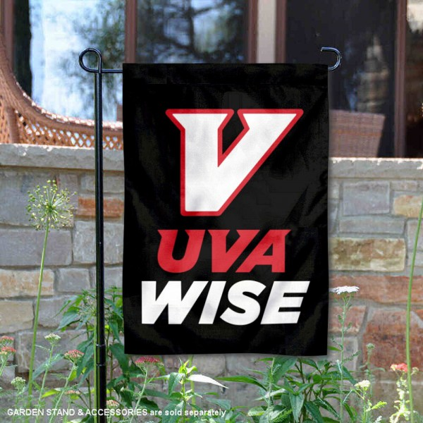 Virginias College at Wise Cavaliers New UVA Wise Logo Garden Flag is 13x18 inches in size, is made of 2-layer polyester, screen printed university athletic logos and lettering, and is readable and viewable correctly on both sides. Available with same day shipping, our Virginias College at Wise Cavaliers New UVA Wise Logo Garden Flag is officially licensed and team approved by the university and the NCAA.