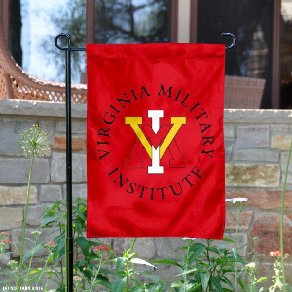 VMI Keydets Garden Flag is 13x18 inches in size, is made of 2-layer polyester, screen printed Virginia Military Institute athletic logos and lettering. Available with Same Day Express Shipping, Our VMI Keydets Garden Flag is officially licensed and approved by Virginia Military Institute and the NCAA.