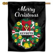 VMI Keydets Happy Holidays Banner Flag