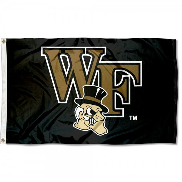 Wake Forest Demon Deacons 3x5 Flag is made of 100% polyester, offers quad stitched flyends, measures 3x5 feet, has two metal grommets, and is viewable from both side with the opposite side being a reverse image. Our Wake Forest Demon Deacons 3x5 Flag is officially licensed by the selected college and NCAA.