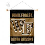 Wake Forest Demon Deacons Banner with Suction Cup