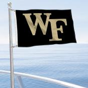Wake Forest Demon Deacons Boat and Mini Flag