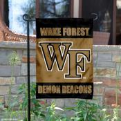 Wake Forest Garden Flag