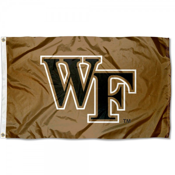 Wake Forest University Demon Deacons Flag measures 3'x5', is made of 100% poly, has quadruple stitched sewing, two metal grommets, and has double sided Wake Forest University logos. Our Wake Forest University Demon Deacons Flag is officially licensed by the selected university and the NCAA