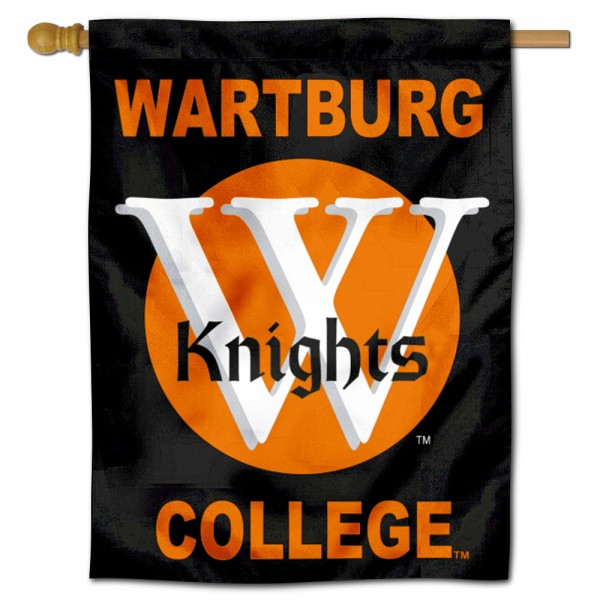 Wartburg Knights Double Sided House Flag is a vertical house flag which measures 30x40 inches, is made of 2 ply 100% polyester, offers screen printed NCAA team insignias, and has a top pole sleeve to hang vertically. Our Wartburg Knights Double Sided House Flag is officially licensed by the selected university and the NCAA.