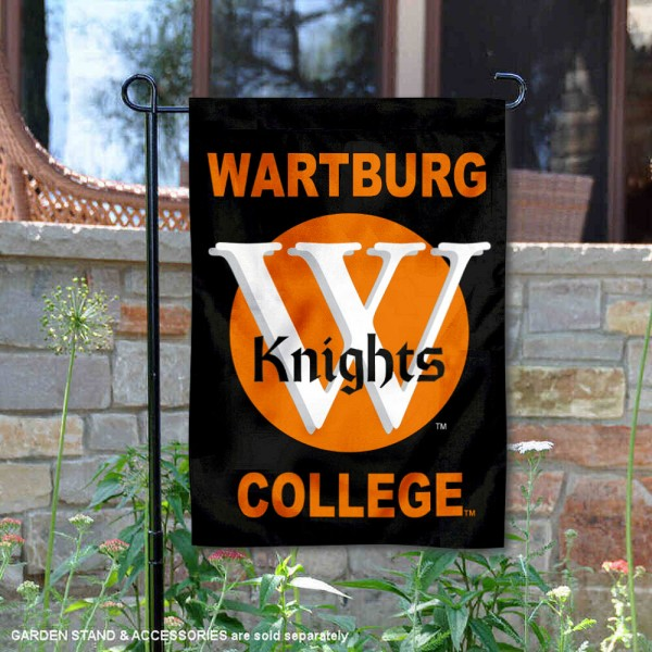 Wartburg Knights Garden Flag is 13x18 inches in size, is made of 2-layer polyester, screen printed university athletic logos and lettering. Available with Same Day Express Shipping, our Wartburg Knights Garden Flag is officially licensed and approved by the university and the NCAA.