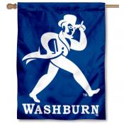 Washburn Ichabod Banner Flag